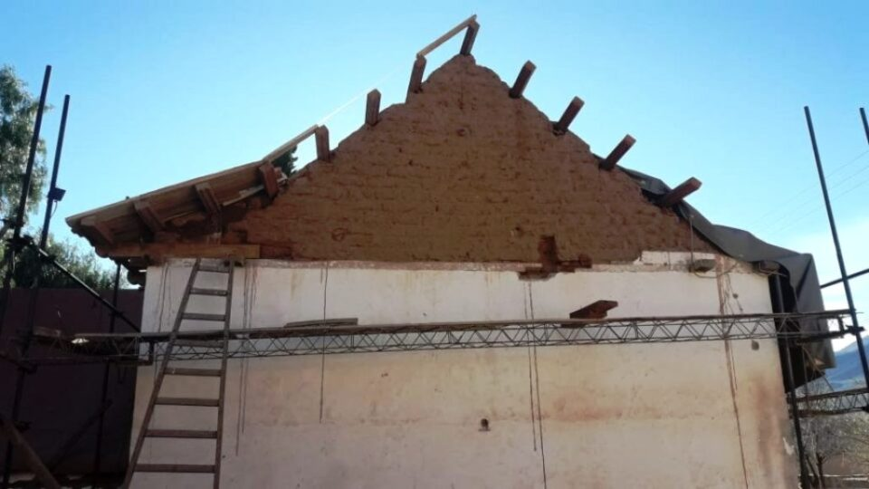 Uquía: Avanzan las obras para la preservación del Patrimonio
