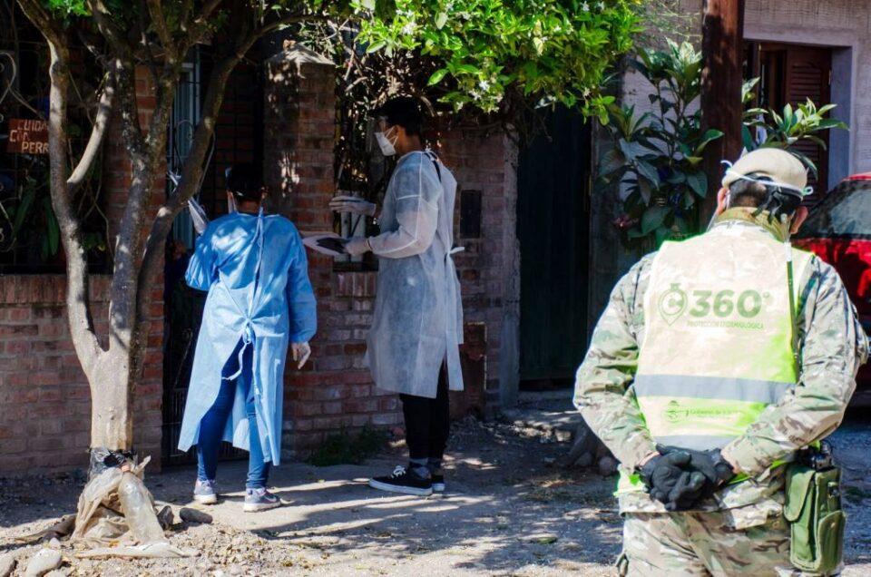 Continúan los operativos sanitarios en los barrios de la ciudad